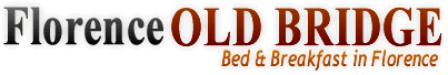 Bed and Breakfast in Florence, Cheap Accommodation • B&B Florence Old Bridge